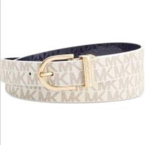 NWT Michael Kors reversible signature belt.